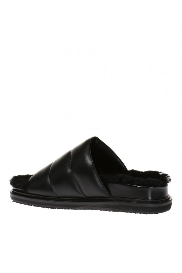 Leather slides od Marni