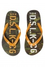 Diesel Kids Camo flip-flops