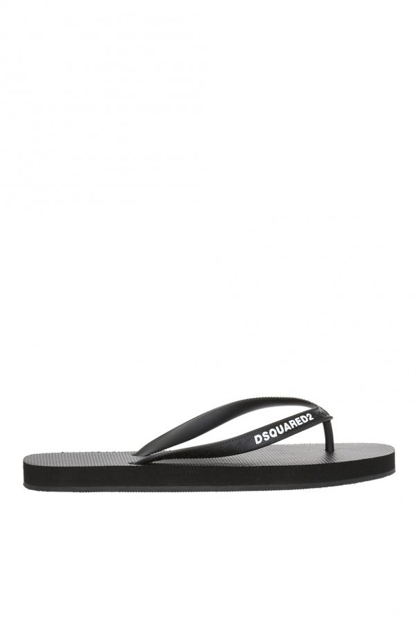 Dsquared2 Rubber flip-flops