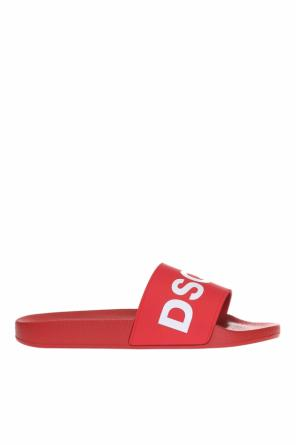 Logo-embossed sliders od Dsquared2