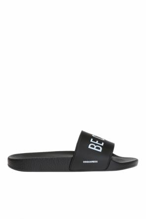 Sliders with lettering od Dsquared2