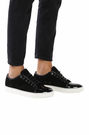 Contrasted toe cap sneakers od Lanvin