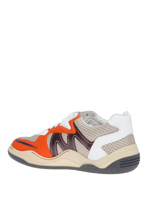 logoprinted sneakers lanvin vitkac shop online