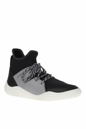 Lace-up high-top sneakers od Lanvin