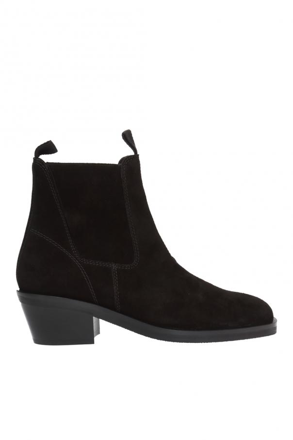 Acne Heeled slip-on ankle boots