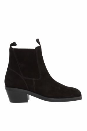 Heeled slip-on ankle boots od Acne