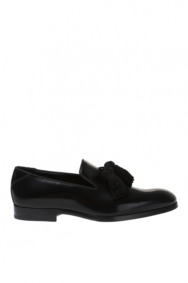 Jimmy Choo 'Foxley' leather loafers