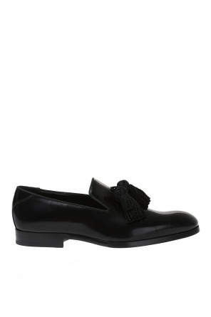 'foxley' leather loafers od Jimmy Choo