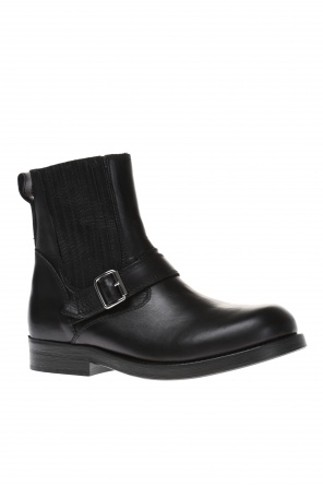 Leather boots od Diesel Black Gold