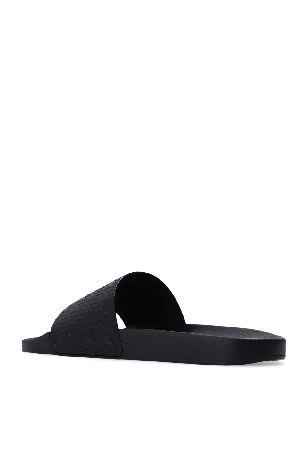 Dsquared2 Leather slides with logo