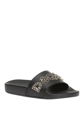 'dune' slides with logo od Dsquared2