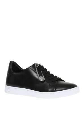 Leather sneakers od Versace Versus