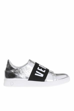 Slip-on sneakers with logo od Versace Versus