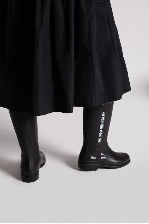 Rain boots with logo od F_WD
