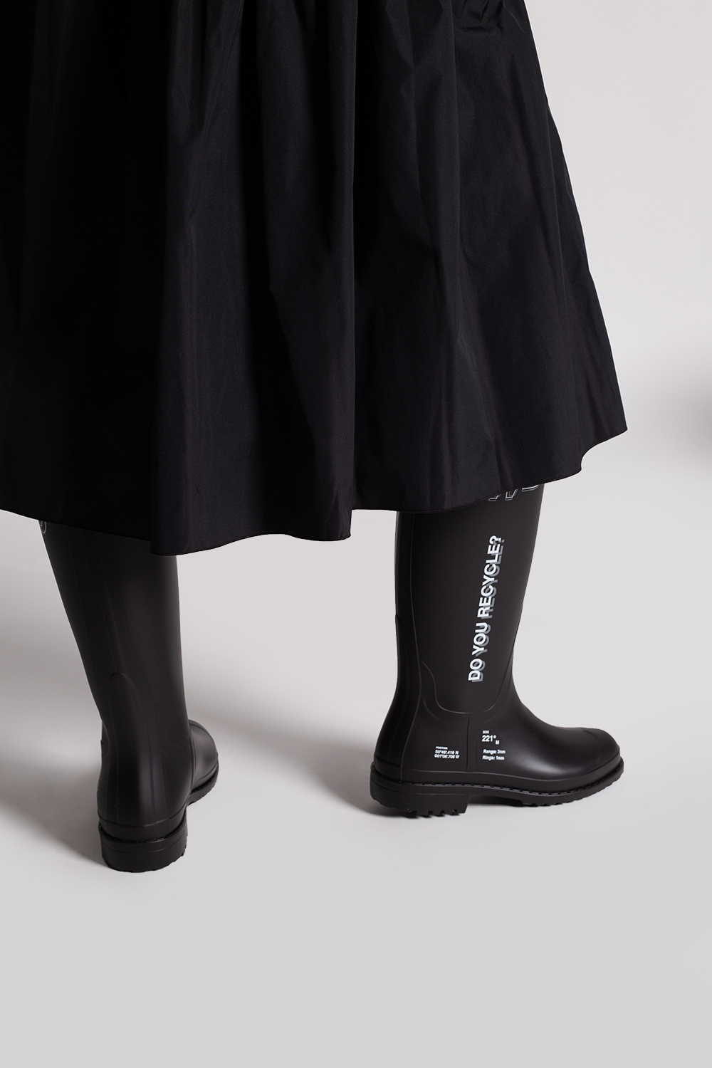 F_WD Rain boots with logo