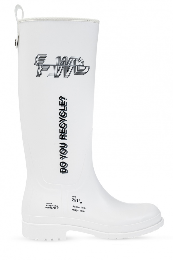F_WD Branded rain boots