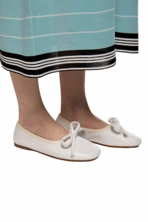 Ballet flats with tie fastening od Lanvin