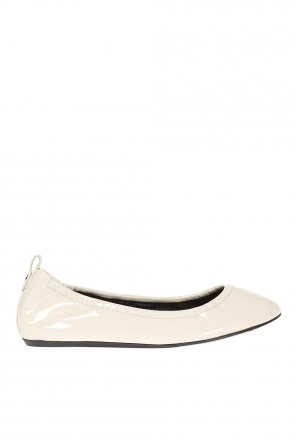 Patent leather ballet flats od Lanvin