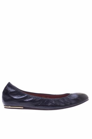 Classic leather ballet flats od Lanvin