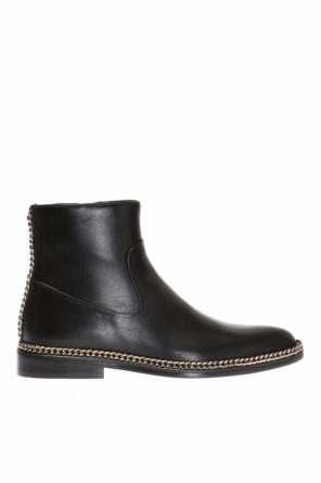 Chained ankle boots od Lanvin