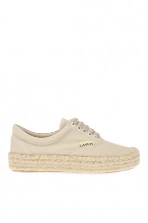 系带帆布便鞋 od Lanvin