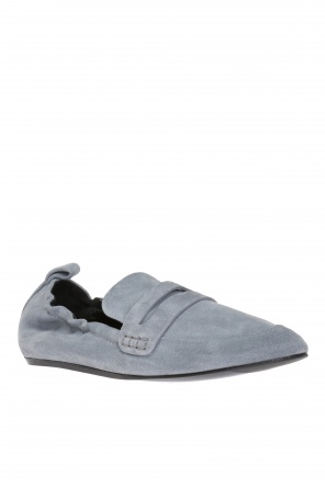 Suede loafers od Lanvin