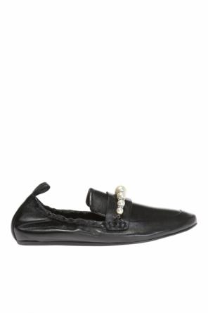 Loafers with pearls od Lanvin