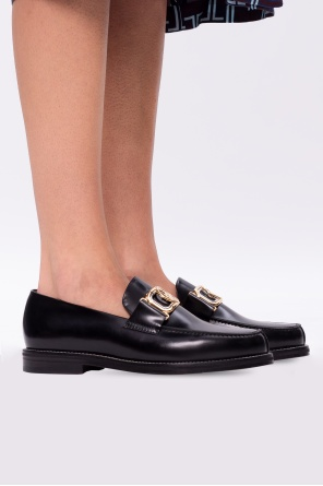 Leather loafers od Lanvin
