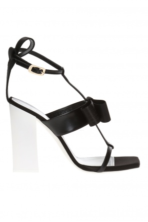 Heeled sandals with bow od Lanvin