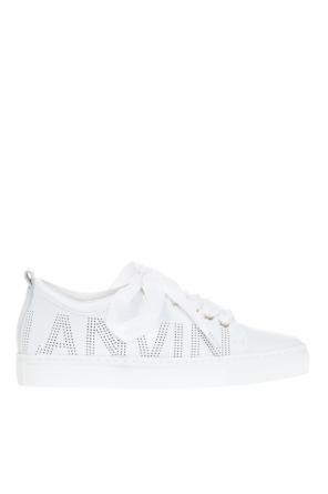 Sneakers with perforated logo od Lanvin