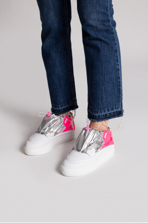Sneakers with logo od F_WD