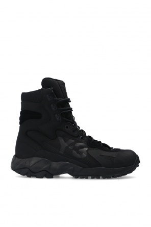 'notoma' hiking boots od Y-3 Yohji Yamamoto