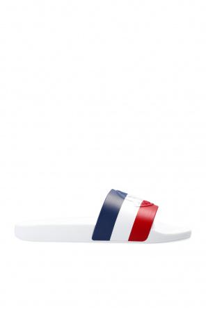 'basile' rubber slides od Moncler 'O'