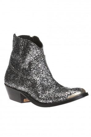 'young' heeled ankle boots od Golden Goose
