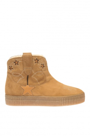 Star motif ankle shoes od Golden Goose