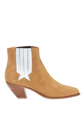 'sunset' heeled ankle boots od Golden Goose