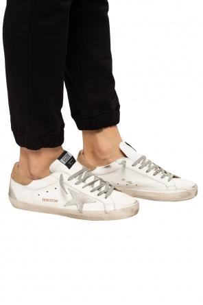 Buty sportowe 'superstar' z efektem znoszenia od Golden Goose