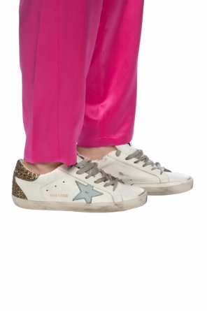 'superstar' sneakers with worn effect od Golden Goose