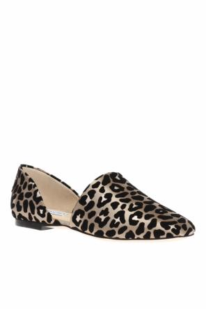 'globe' leopard printed shoes od Jimmy Choo