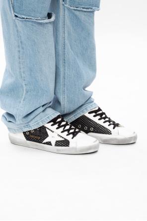 'superstar double' sneakers od Golden Goose