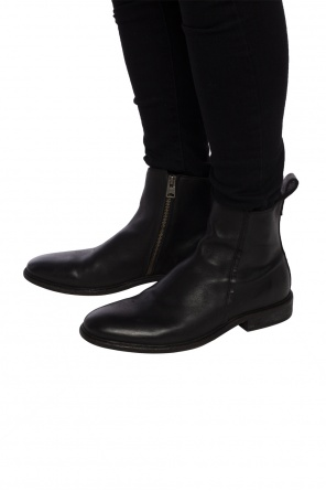 'gravel' leather boots od AllSaints