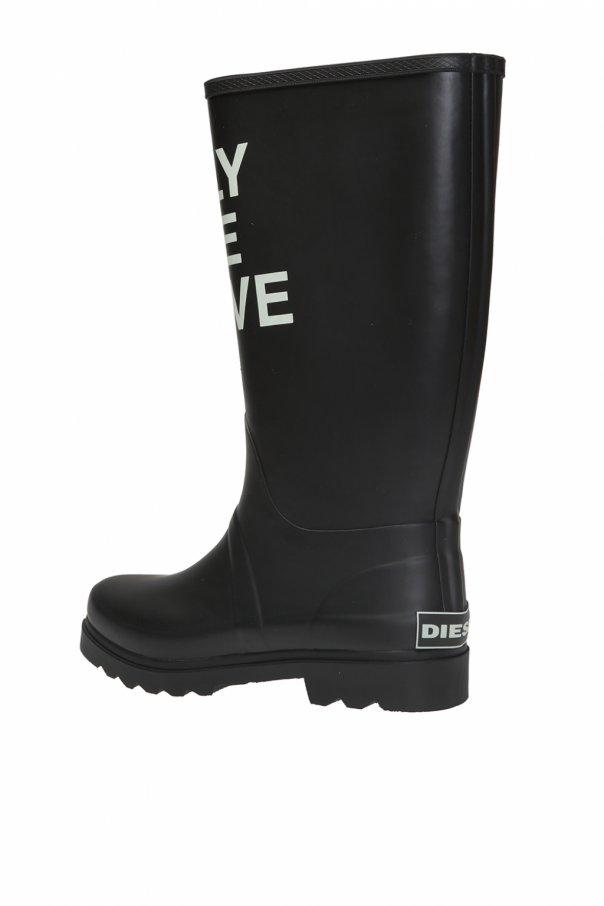印花雨鞋 od Diesel