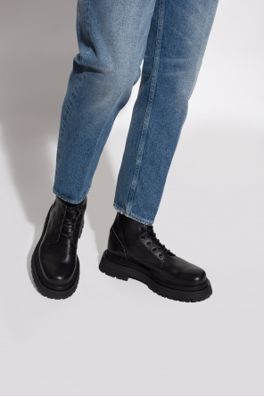 Leather ankle boots od Ami Alexandre Mattiussi