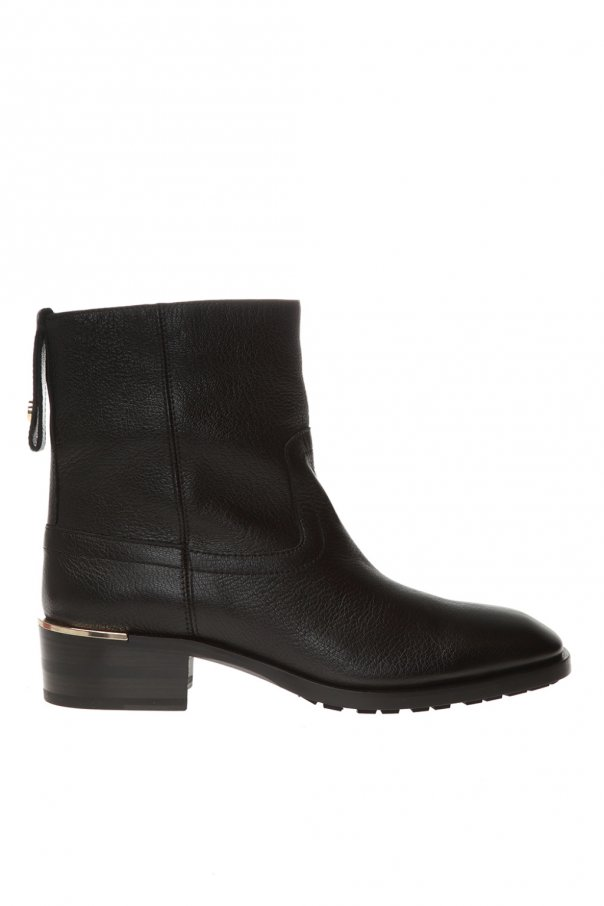 'halbert' leather ankle boots od Jimmy Choo