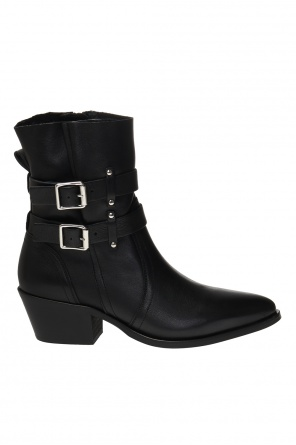 'harriet' leather ankle boots od AllSaints
