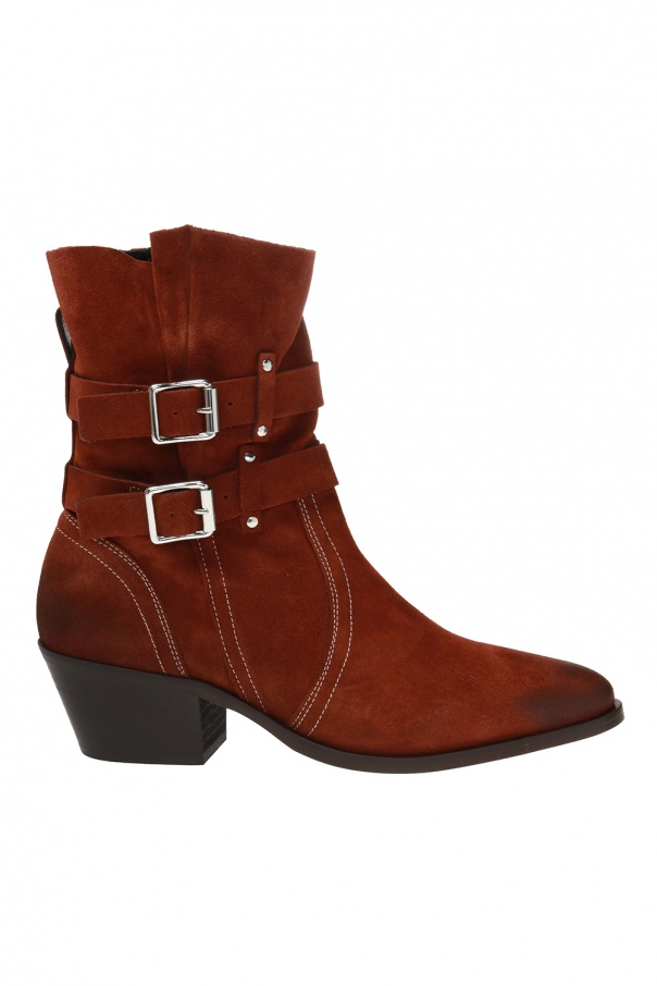 AllSaints 'Harriet' heeled ankle boots