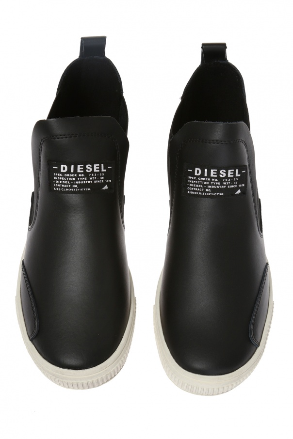 High-top slip-on sneakers od Diesel