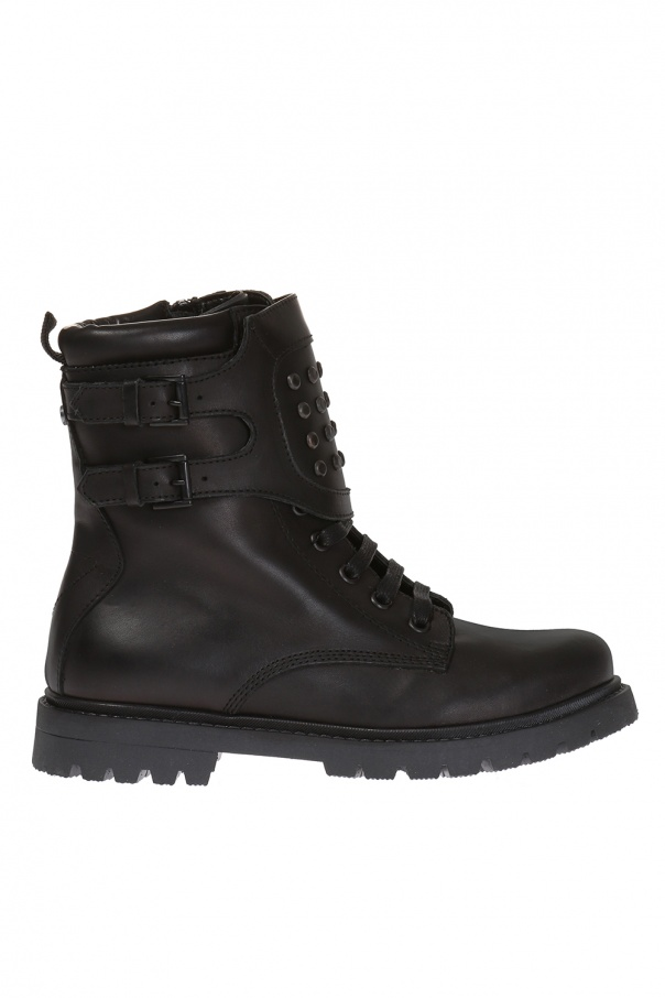 Diesel Kids Lace-up ankle boots