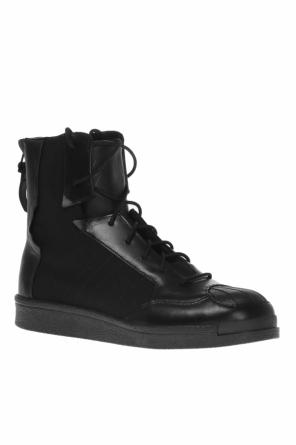 Lace-up high-top sneakers od Yohji Yamamoto