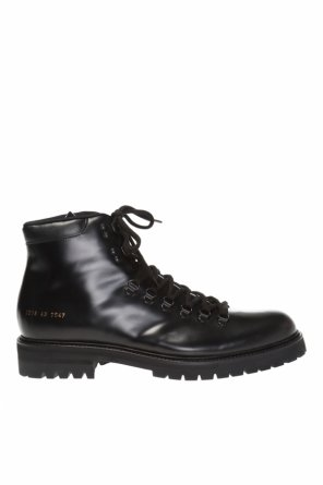 Leather boots od Common Projects